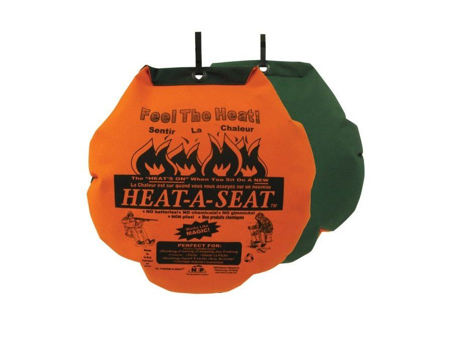 Stay Warm COVID-19 Winter - Heat A Seat Cushion from Canadian Tire