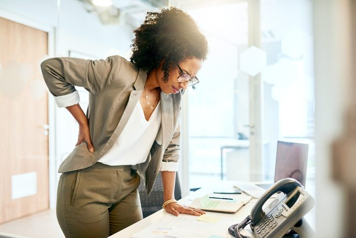 lower back pain in women   Prolonged Sitting Puts A Lot Of Strain On The Lower Back