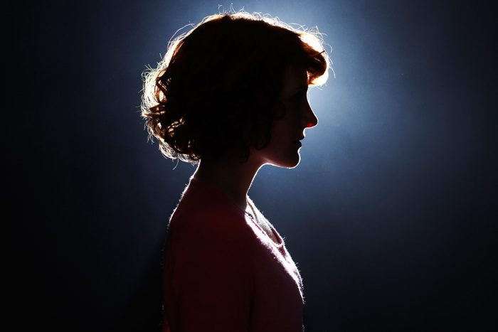 what is dissociation | Silhouette Of Young Woman