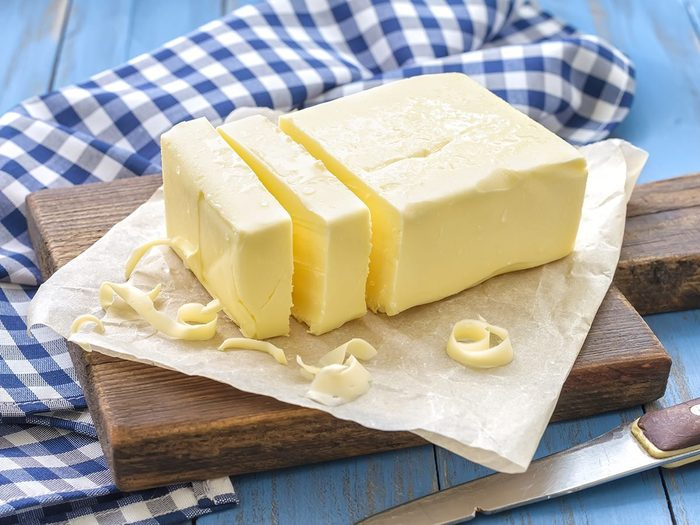 canadian butter palm oil | image of butter on a counter