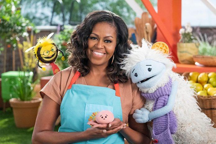 michelle obama waffles mochi   Michelle Obama Netflix Show Qt 1200x800
