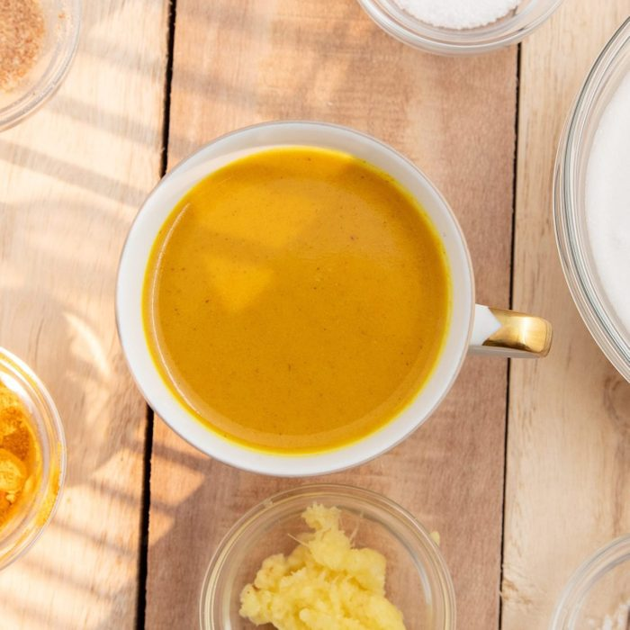 turmeric coffee   Gettyimages 1136216959