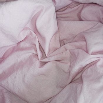 good sex | Top,view,with,crumpled,pink,bed,sheet.,cotton,textile,waved.