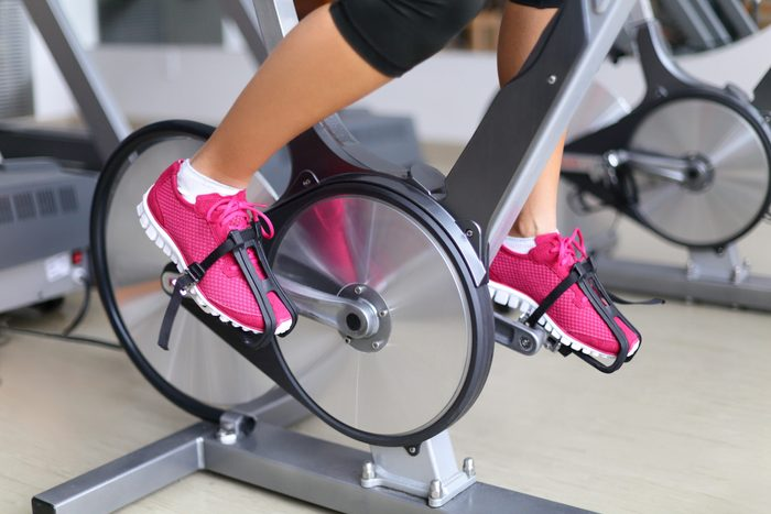peloton compatible shoes | Exercise,bike,with,spinning,wheels.