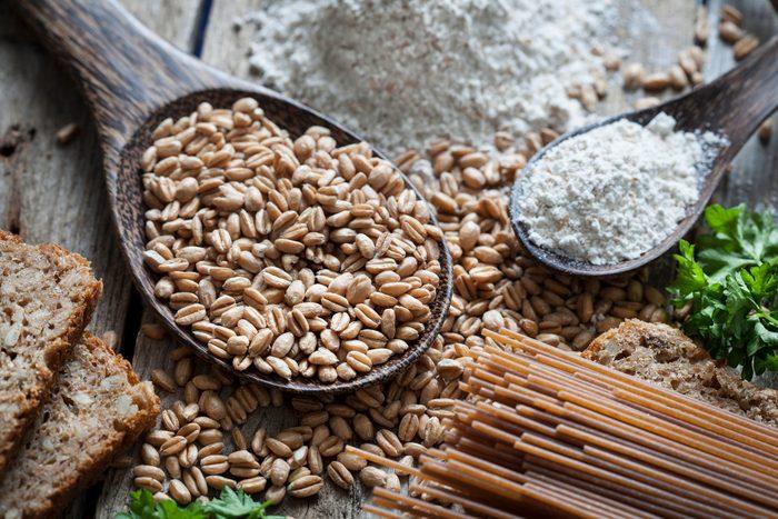 Raw Spelt Flour Pasta Bread
