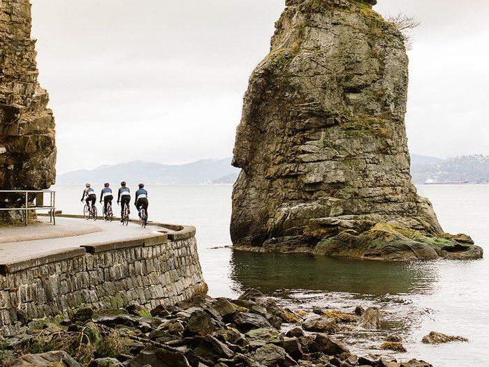 Best Biking Apps   photo of women riding their bikes around a bend