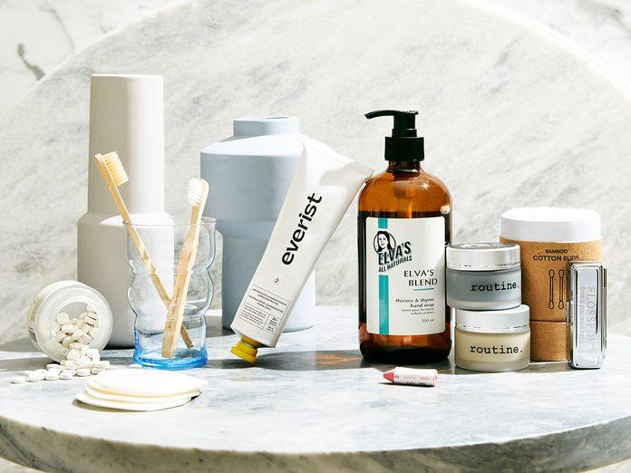 Eco Friendly Sustinable Bathroom Items