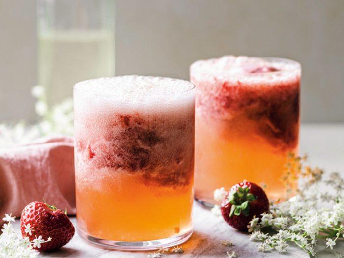 Strawberry Floats