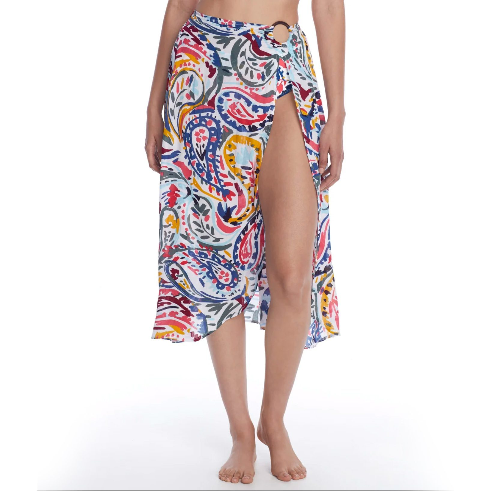 Anne Cole Signature Watercolor Paisley Sarong