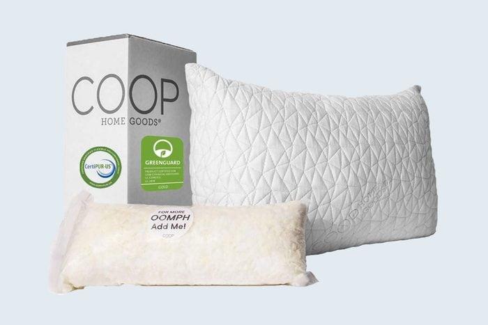 Coop Home Goods Premium Adjustable Loft Pillow Via Amazon Com