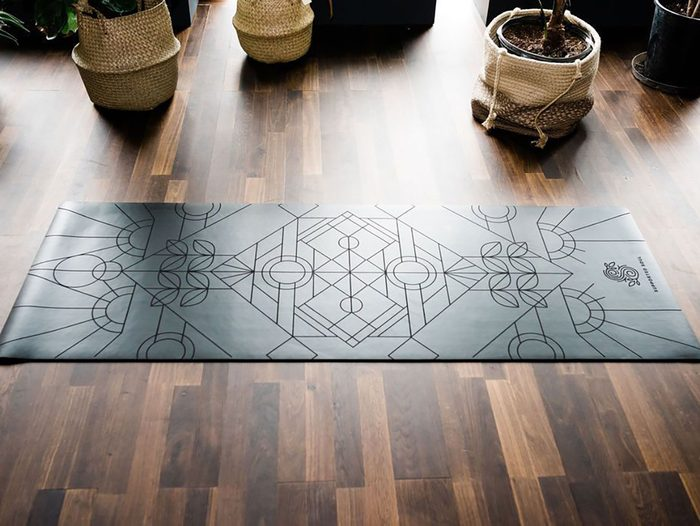 Eco Friendly Yoga Mat Supported Soul