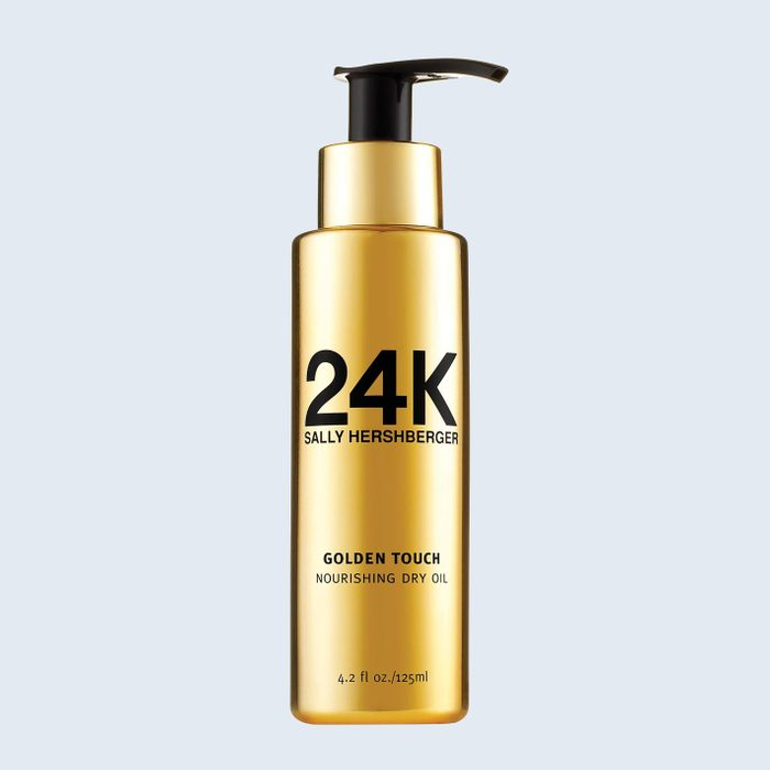 24k Sally Hershberger Dry Hair Oil | products for frizzy hair