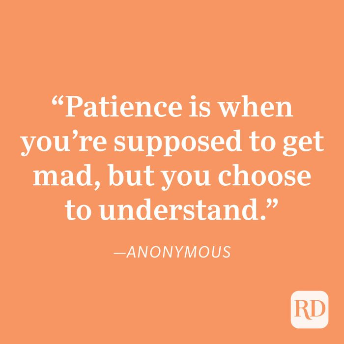 Anonymous Patience Quote