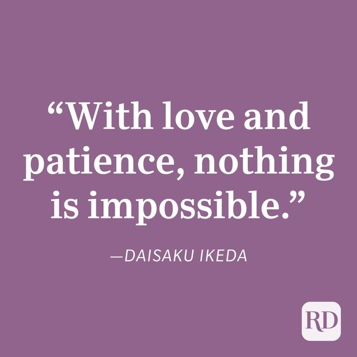 Daisaku Ikeda Patience Quote