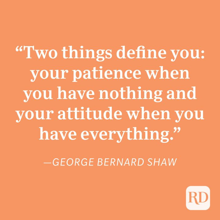 George Bernard Shaw Patience Quote