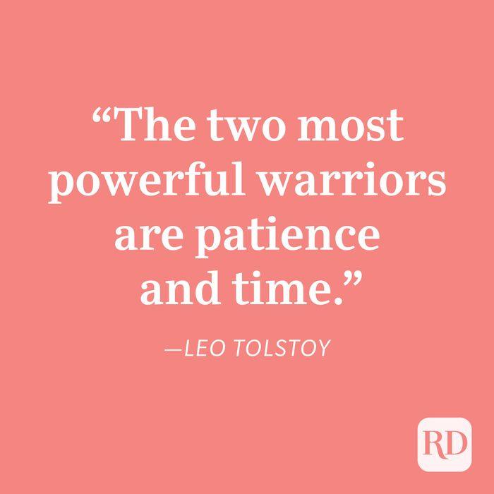 Leo Tolstoy Patience Quote