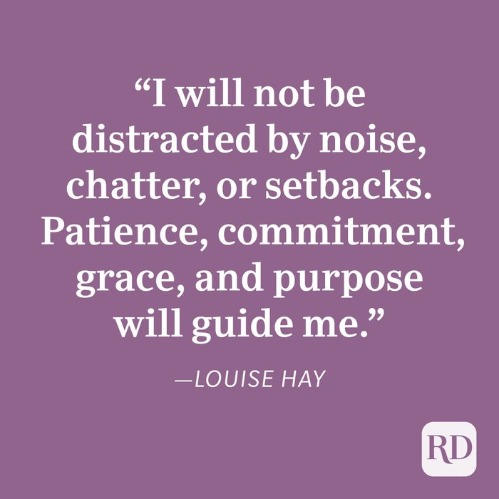 Louise Hay Patience Quote