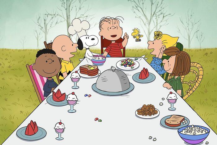 A Charlie Brown Thanksgiving Movie Via Apple Tv