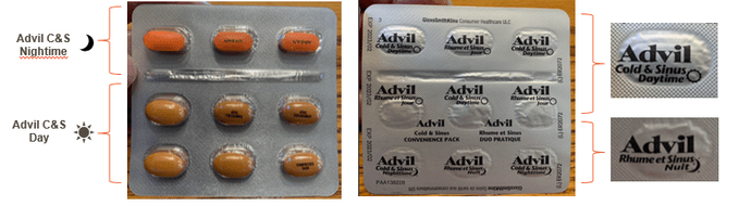 Advil Cold And Sinus Recall Inline